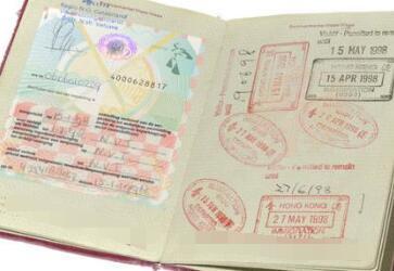 钱先生成功获得西班牙签证